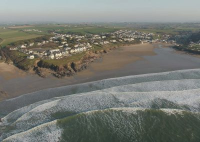 Polzeath and Baby Bay